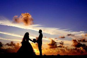 バリでプロポーズしたカップル