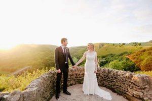 結婚式の前撮りをカップルで撮影してもらった写真