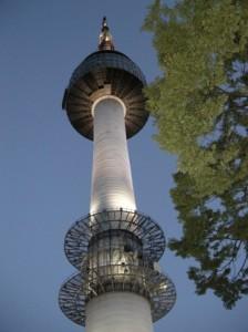 韓国旅行で行くソウルタワー