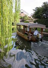 京都観光を屋台船で楽しむ