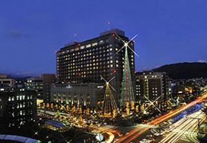 京都ホテルオークラのクリスマスイルミネーション