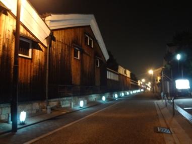 ライトアップされた京都の新名所