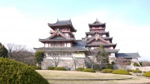 京都伏見の観光スポット桃山城