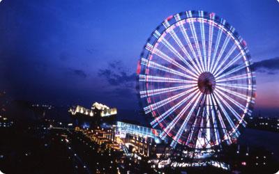 大阪のカップルに人気のデートスポット天保山の観覧車