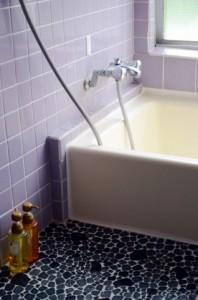 冬の風呂場の温度差