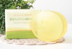 汗の臭いの原因を改善するミョウバン石鹸
