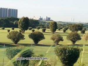 接待ゴルフで訪れたゴルフ場