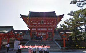 安い旅行費で行った京都伏見稲荷大社