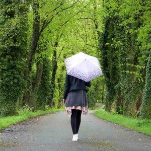 誕生日にママ友からプレゼントされた傘