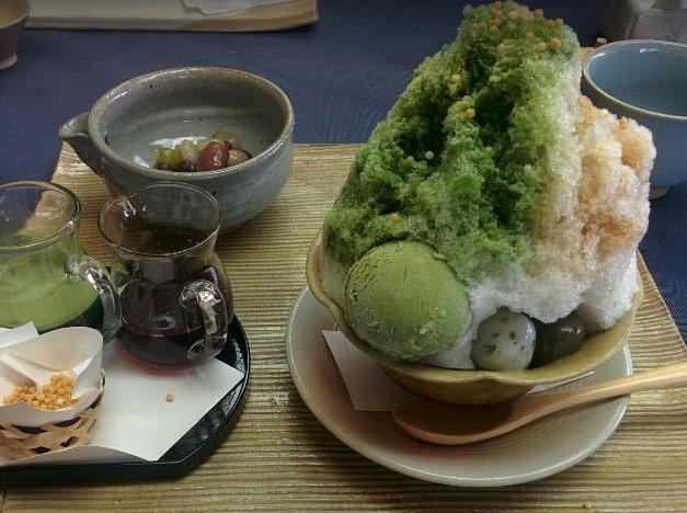 福寿園 宇治工房で食べたかき氷