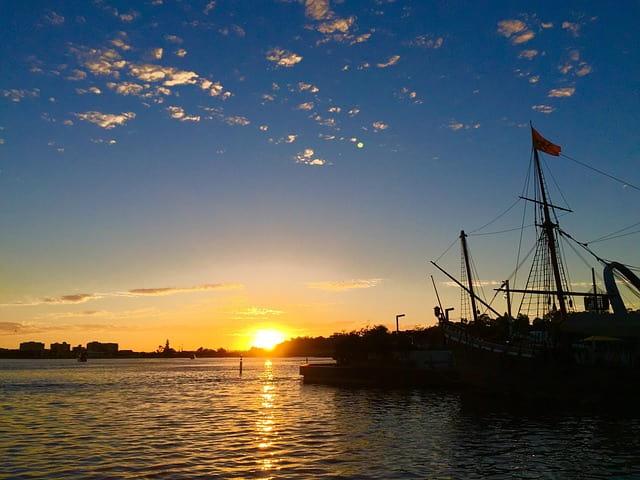オーストラリアパースの夕日